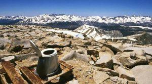 inodoro a más de 4400 metros