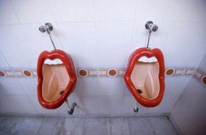 inodoros curiosos urinarios