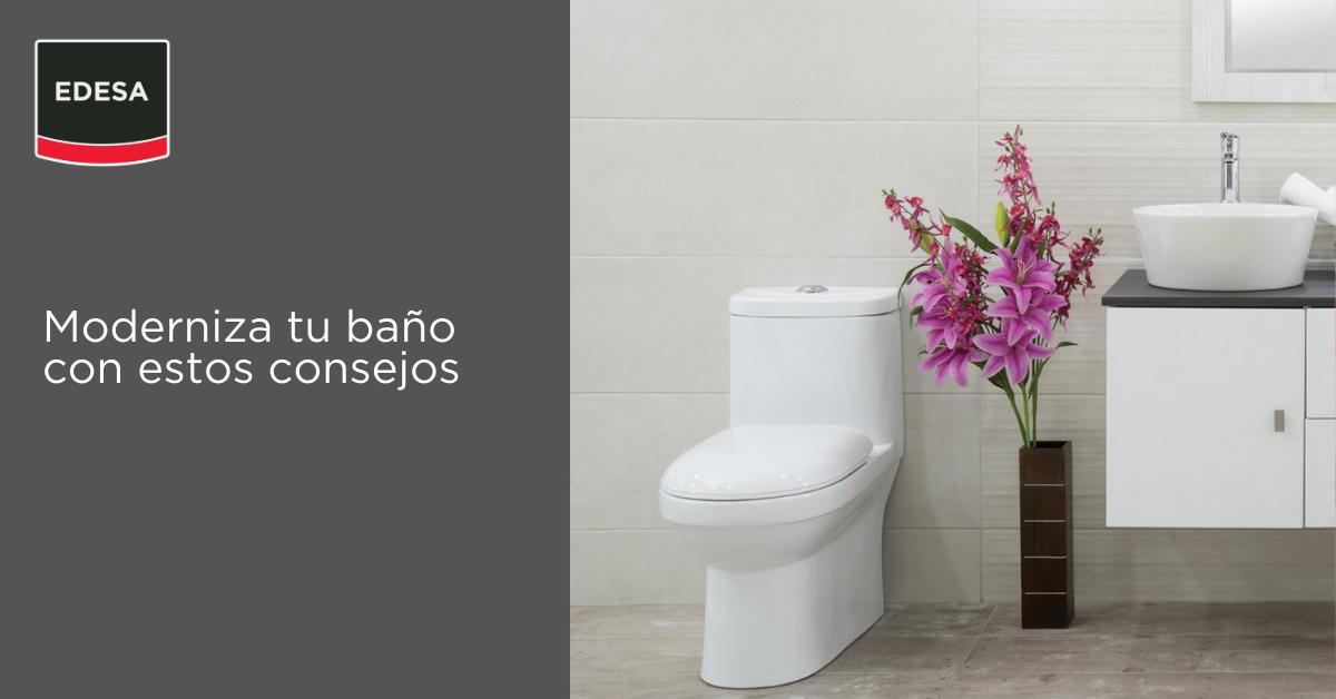 Moderniza tu baño